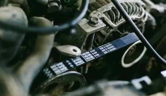 Ремонт системы охлаждения в автомобиле Субару.